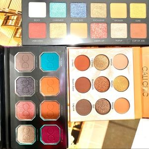 Eyeshadow Palettes Dominic Cosmetics & more